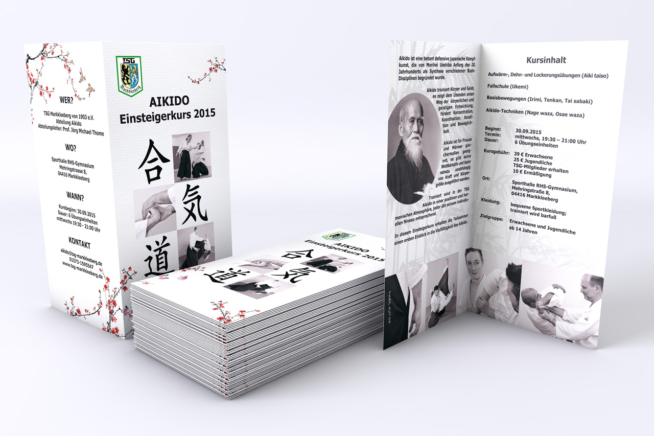 Flyer Design Aikido