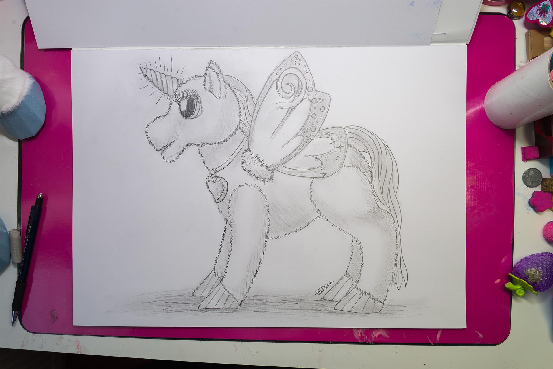 StarLily zeichnen