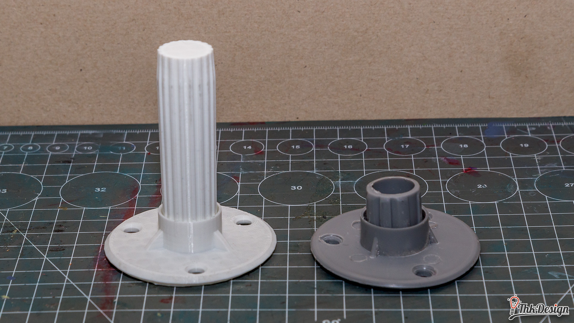 3D geruckte Duschvorhangsaufhängung