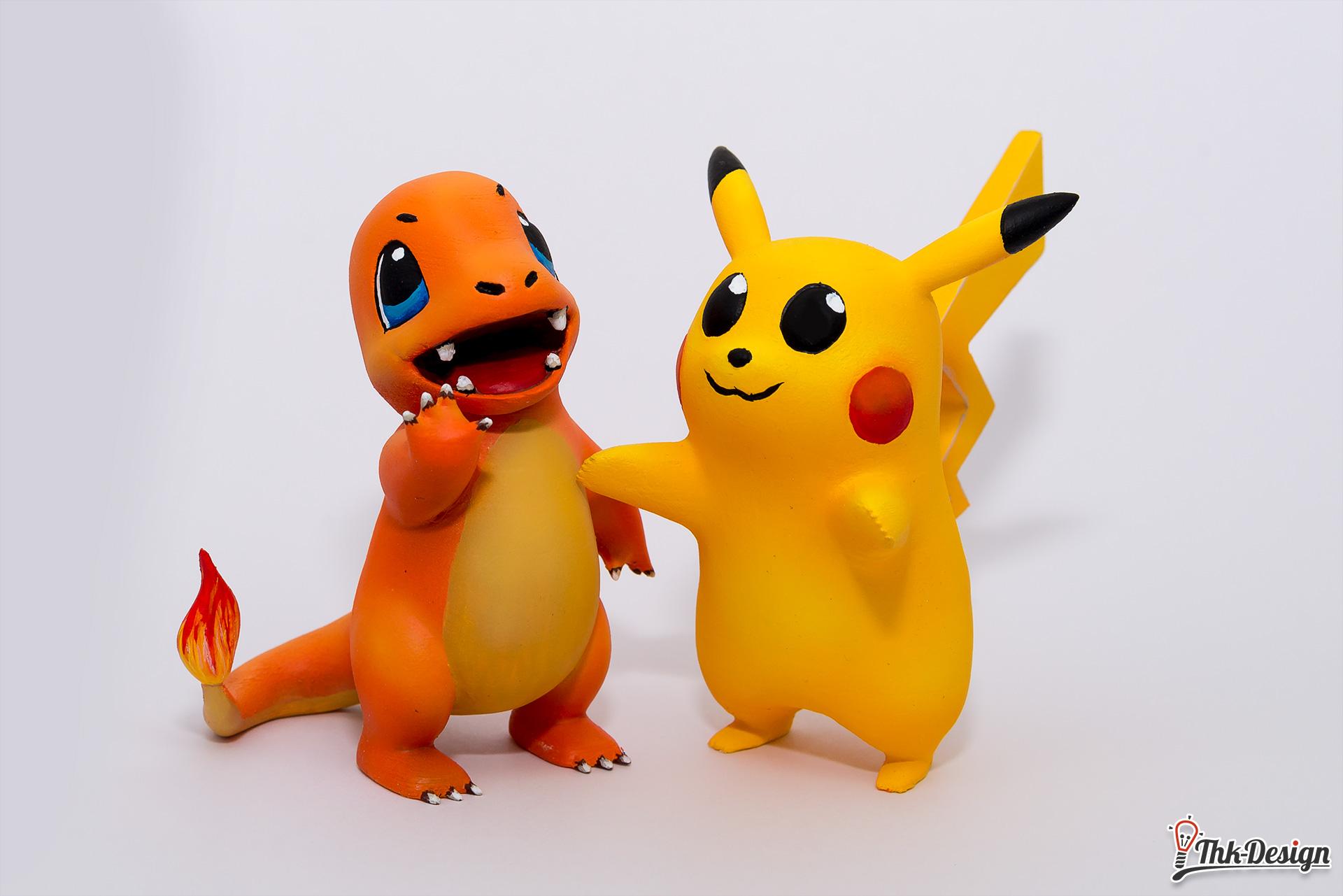 Auftragsarbeit 3D Druck Pokemons