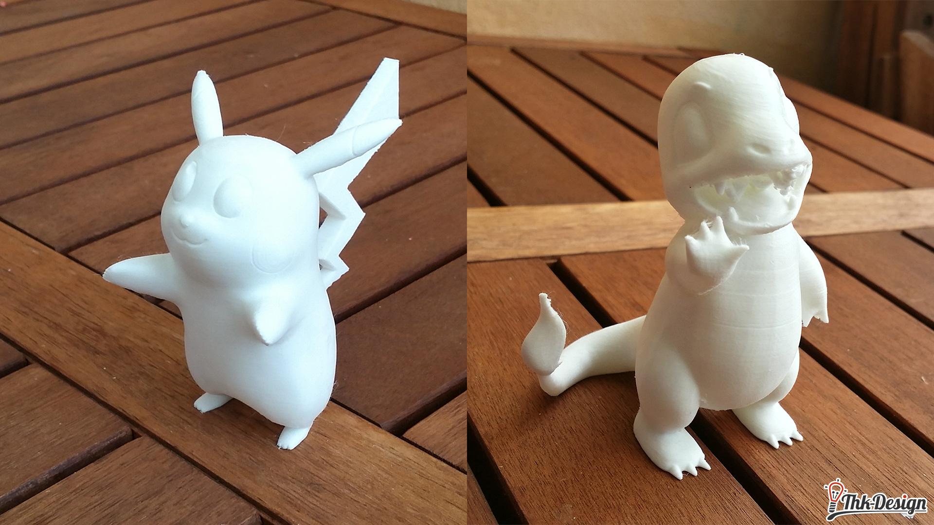 Pokemon 3D gedruckt