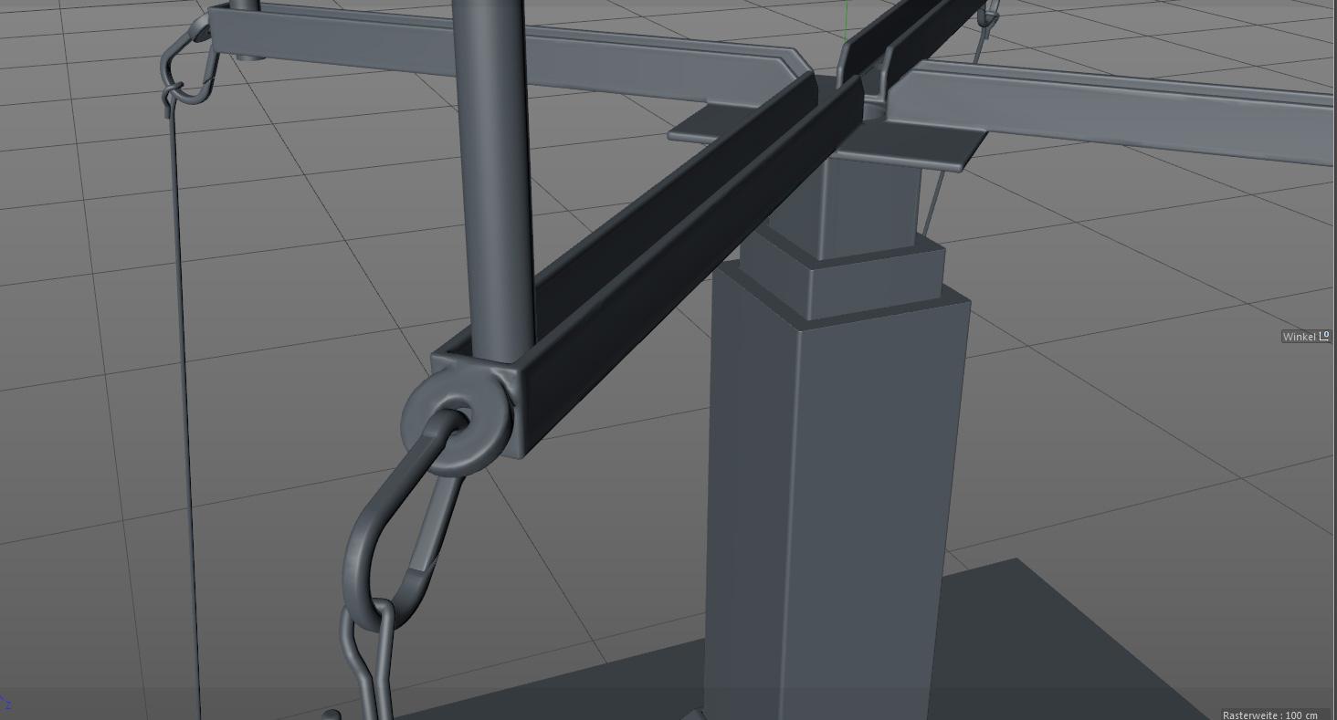 Detailaufnahme Aufbauteile