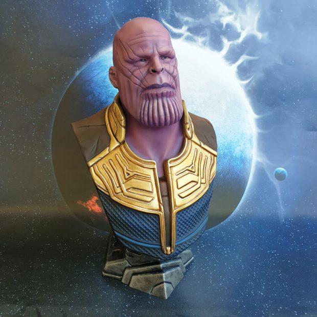 3D Druck des Marvel Charakter Thanos