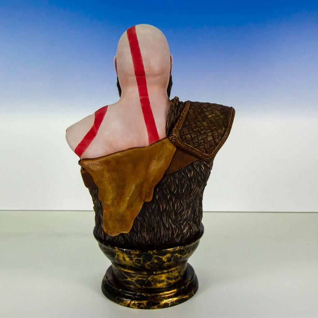 3D Modell Bemalung, Auftragsbemalung, Figurenbemalung, Kratos, God of War